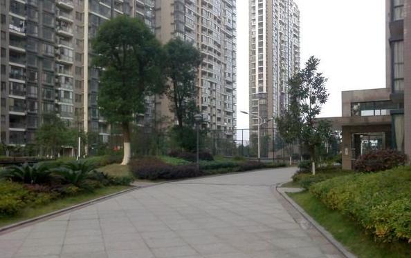 湘江世纪城悦江苑环境图