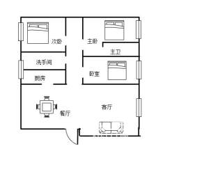 贺家土商圈 文化园电梯精装三房 首付20万 随时看房