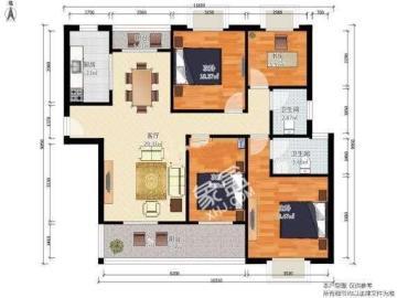米兰映象  4室2厅2卫    340.0万