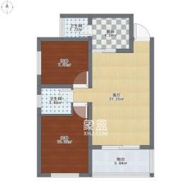 匯城上筑  3室2廳2衛    4000.0元/月