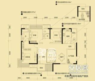銻都家園  4室2廳2衛    2200.0元/月