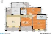 急租!汽车南站周边精装电梯三房植物园德思勤汽车南站环保科技园