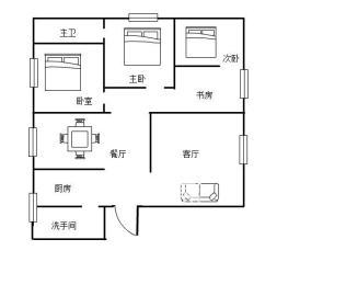 碧野华庭  4室2厅2卫    85.0万