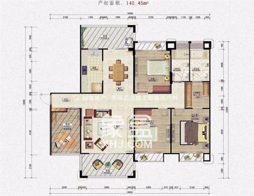 湘麓国际  3室2厅2卫    150.0万