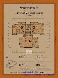 中建芙蓉嘉苑(中建芙蓉工社)  4室2厅2卫    165.0万