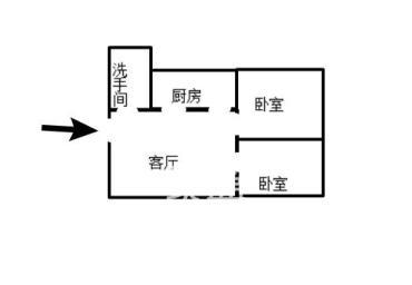 金域半岛  2室1厅1卫    37.6万