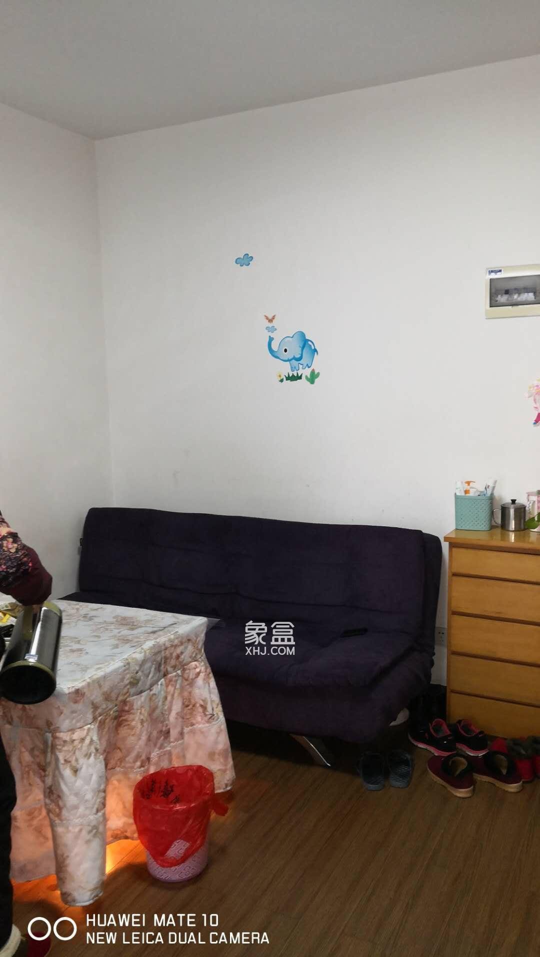 雅礼陪读房源 正规两室一厅  南北通透 8分钟到校