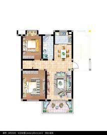 长顺家园  2室2厅1卫    1500.0元/月