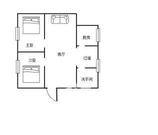 人民北路散盘  2室2厅1卫    41.8万