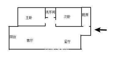 贺家土文化园湖景江景精装两房 拎包入住 送车位