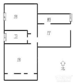 长沙理工大学侯家塘校区教职工宿舍  2室2厅1卫    2000.0元/月