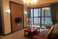 汽车东站 恒大江湾 精装两房出租 家电家具齐全,拎包入住
