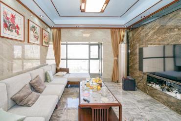 竹塘西铁道学院,长盛岚庭,三房,豪华装修,拎包入住