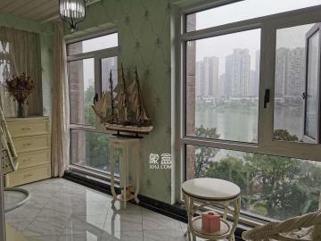 ** 居家裝修 隨時聯系看房 家電齊全 拎梅溪湖湖景房 溫馨