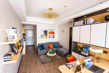 湘运大厦  1室1厅1卫    30.8万