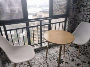 精裝一室,溫馨舒適帶小陽臺,布局美觀