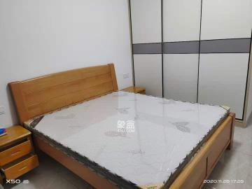 华晨**城 精装公寓 可做饭 免中介费 随时可看 拎包入住