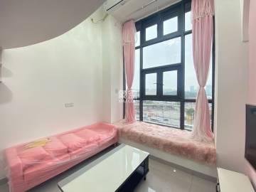 可短租 可月付 弘坤云寓网红复式 全新家电家具 视野开阔。。