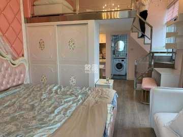双地体口 荣悦台 东怡外国 保利国际 粉色LOFT公寓