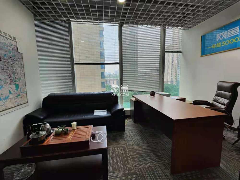 市中心 保利国际 办公好房 一线江景 碧沙湖地铁 随时看房