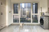 万达广场旁万达华府电梯中层带大阳台全新装修家电齐全
