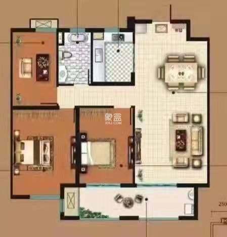 碧桂园  4室2厅3卫    2500.0元/月