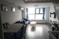 广电中心 复试公寓 户型 周正  朝南小区环境优美 随时看房