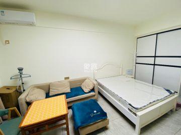 明发公寓 一室一厅一卫 楼下砂之船 精装配置 拎包入住