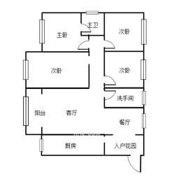 金碧花园  4室2厅2卫    127.0万