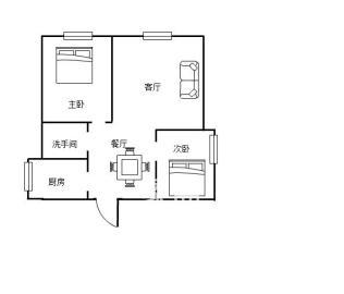 学府华庭  2室2厅2卫    55.0万