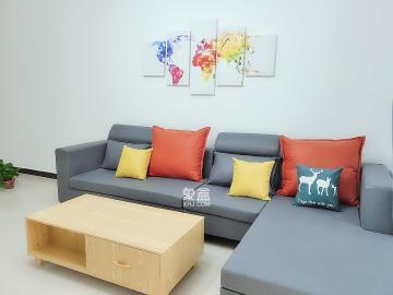 精裝3房2廳,環境舒適,拎包入住