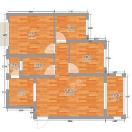 鸿瑞和府  2室2厅1卫    2500.0元/月
