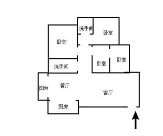 中央皇庭  3室2厅2卫    85.0万
