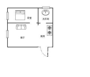 中旺锦安城  2室1厅1卫    33.8万