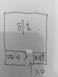 伍家嶺生活廣場  1室1廳1衛    1400.0元/月