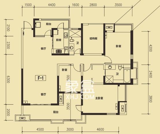 中联科技园,保利麓谷林语,精装大四房,只卖240万。