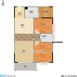 山水阳光城  3室2厅2卫    63.8万