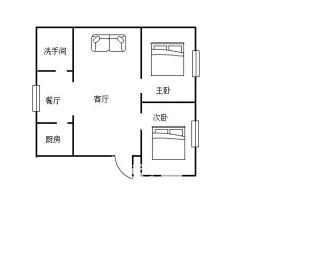 新建村  2室1厅1卫    27.0万