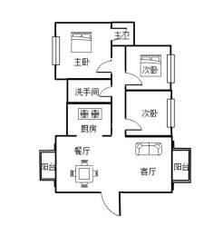 磐龙生态社区  3室2厅2卫    80.0万