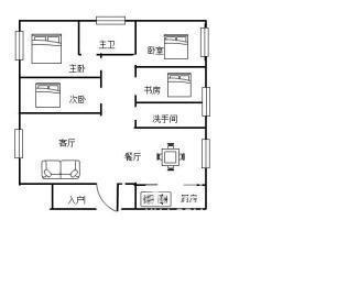 磐龙生态社区  4室2厅2卫    90.0万