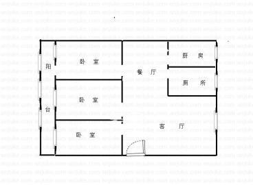 迎龙阁公寓  3室2厅2卫    88.0万