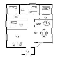 佳兆业金域天下二期  3室2厅2卫    118.0万