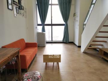 洋湖濕地 蘭亭灣畔 loft復式一房 家電齊全 拎包入住