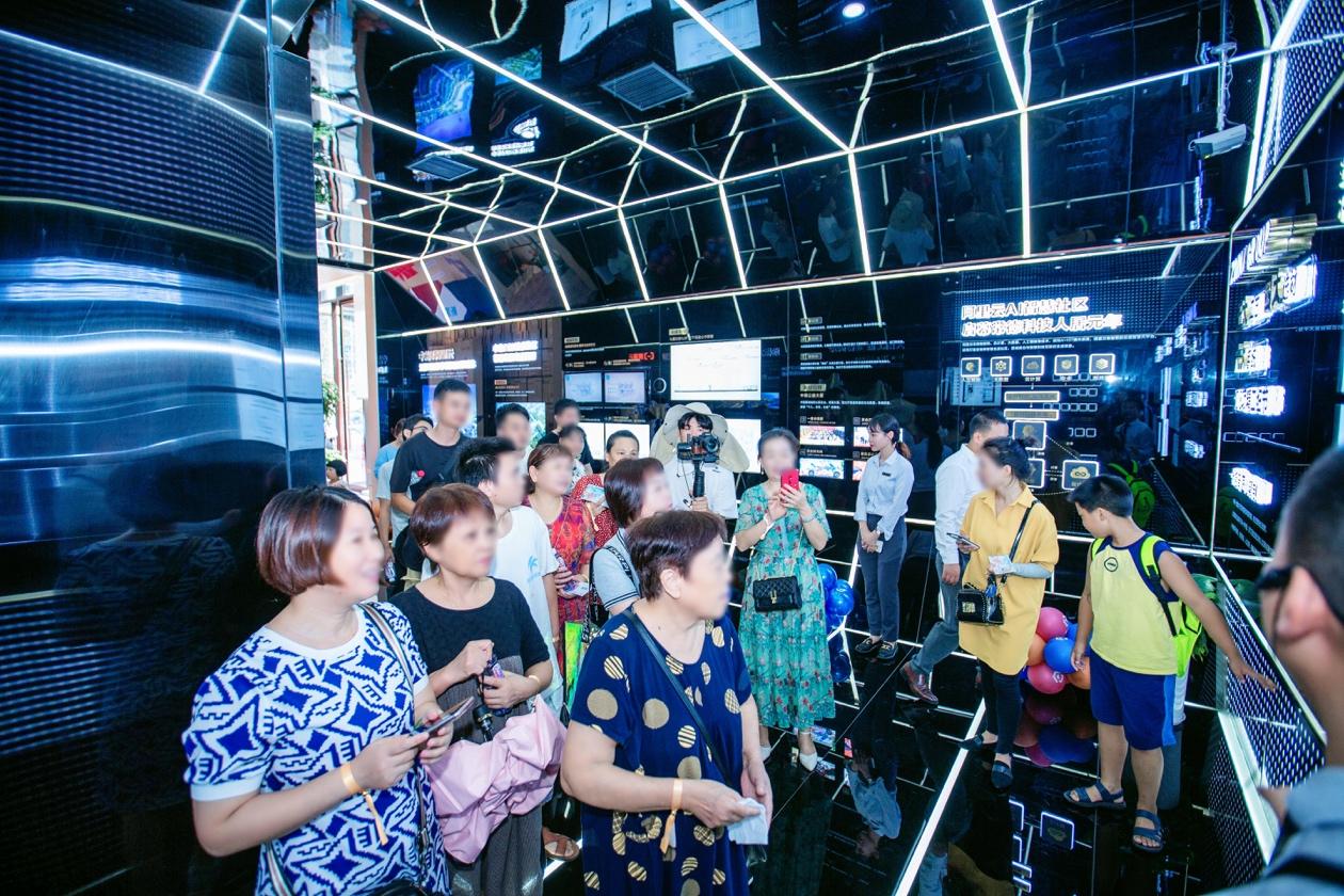 中南海棠集:9月19日工地开放日暨美好立方首发仪式耀目开启