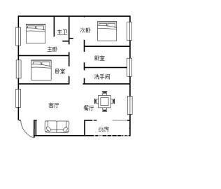 精装居家4房  家电齐全 拎包入住 房子温馨舒适