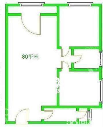 南湖国际4期  2室1厅1卫    1800.0元/月