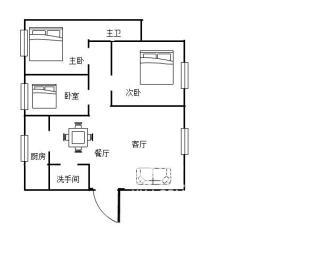 康馨佳园  3室2厅1卫    83.0万