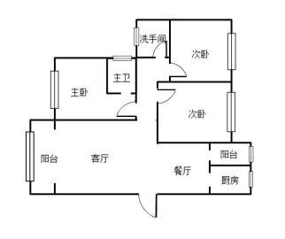 新城壹号  3室2厅2卫    76.0万