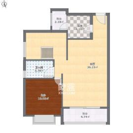 西子湖畔沃府  1室1厅1卫    2200.0元/月