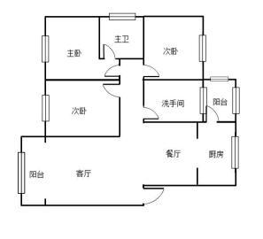 煜峰花园先锋路23号  3室2厅2卫    85.0万